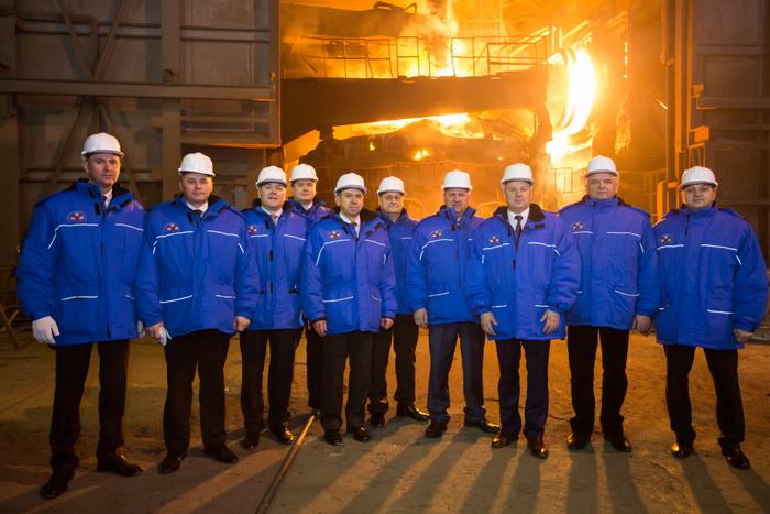 Посещение Белорусского металлургического завода