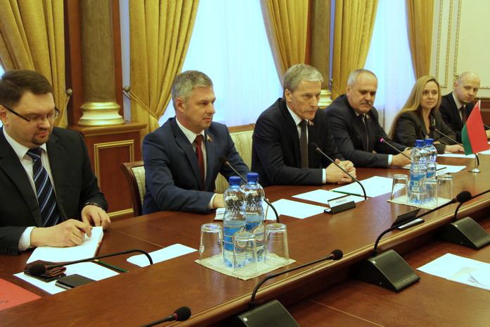 Встреча с делегацией Законодательного Собрания Ростовской области