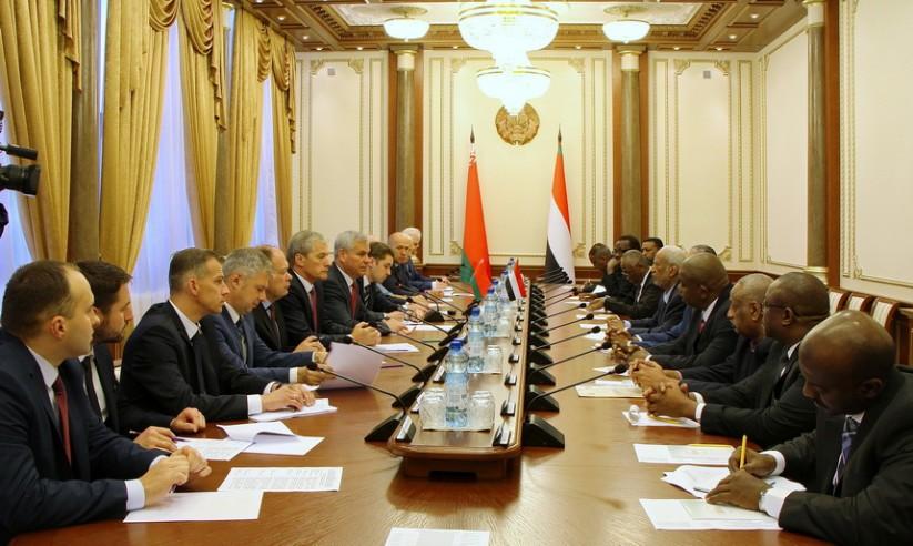 Встреча с парламентской делегацией Судана