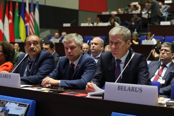 Заседание Парламентской ассамблеи ОБСЕ