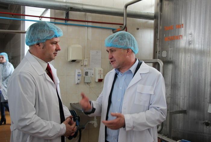 Посещение Солигорского филиала ОАО «Слуцкий сыродельный комбинат»